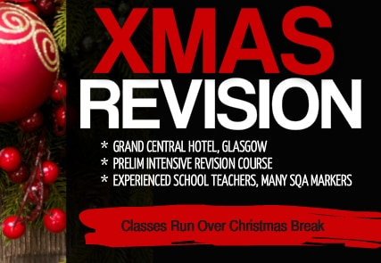 Glasgow Prelim Revision Course