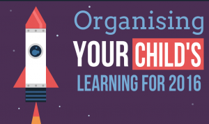 Organising your childs learning for 2016