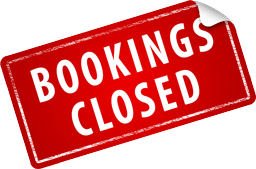 Bookings Closed