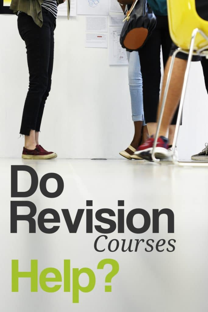 Do Revision Courses Help