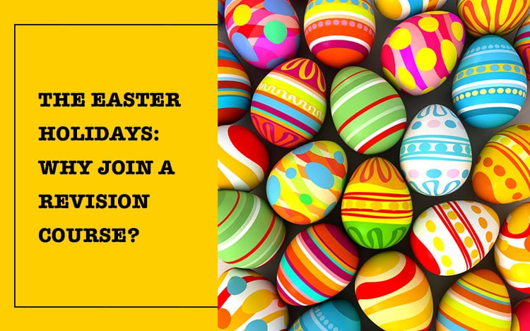 The Easter Holidays are always the ones that seem to just 'spring up' out of nowhere- and this can be a little daunting for your teenager. This is because: on the one hand, your child will have a bit of a breather (and hopefully some chocolate, too!) over the Easter break. On the other hand, the Easter holidays are a perfect opportunity for devoting a decent amount of time to revision- and we'd encourage you to sign your child up to a revision course as soon as possible. Here's why: