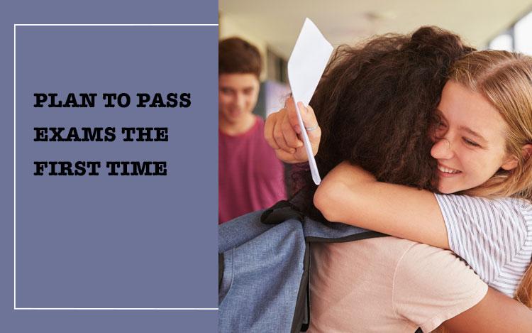 Teenage Girls Celebrating Exam Results